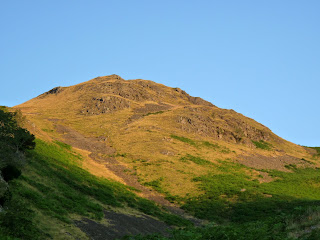 Early sunlight on High Rigg. I will be up there soon.