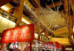 東京ミッドタウン≪ガレリア≫のクリスマスイルミネーション2014