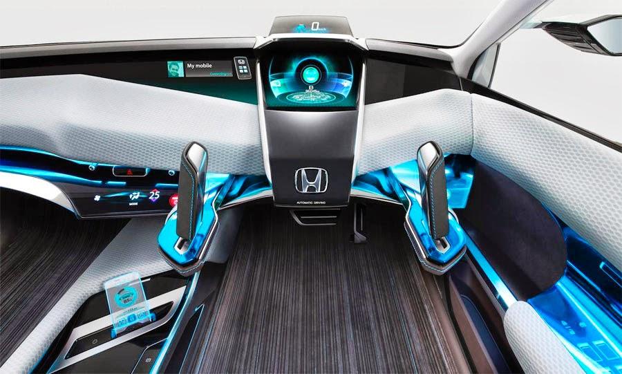 Dark Roasted Blend: Joystick Car Dashboard Concepts