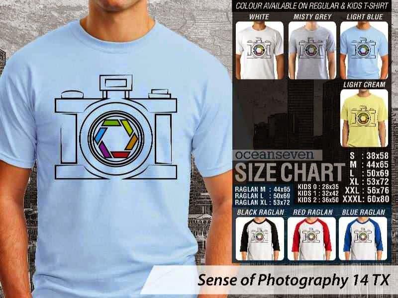 Kaos kamera Sense of Photography 14 Photography distro ocean seven