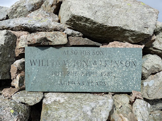 The Atkinson plaque ...