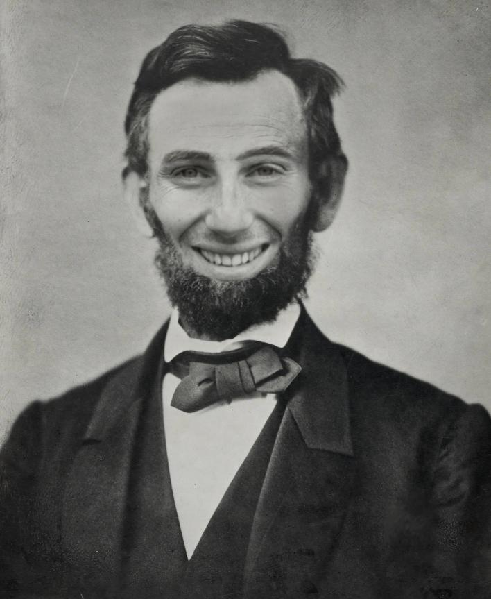 Авраам Линкольн или Ромэн Грожан - фотошоп от RaisinChips