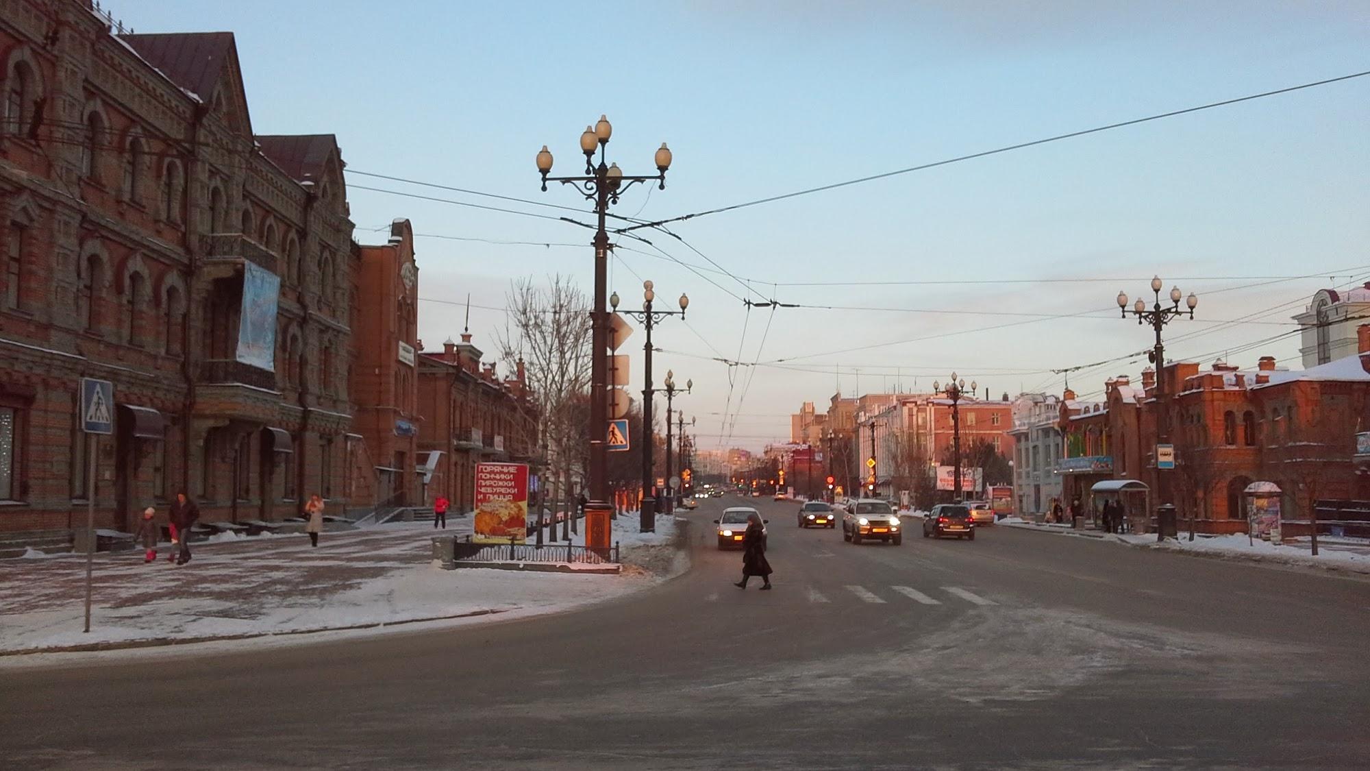 Улица Хабаровска