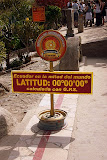 The Real Equator, Measured by GPS - 220 Yards Away