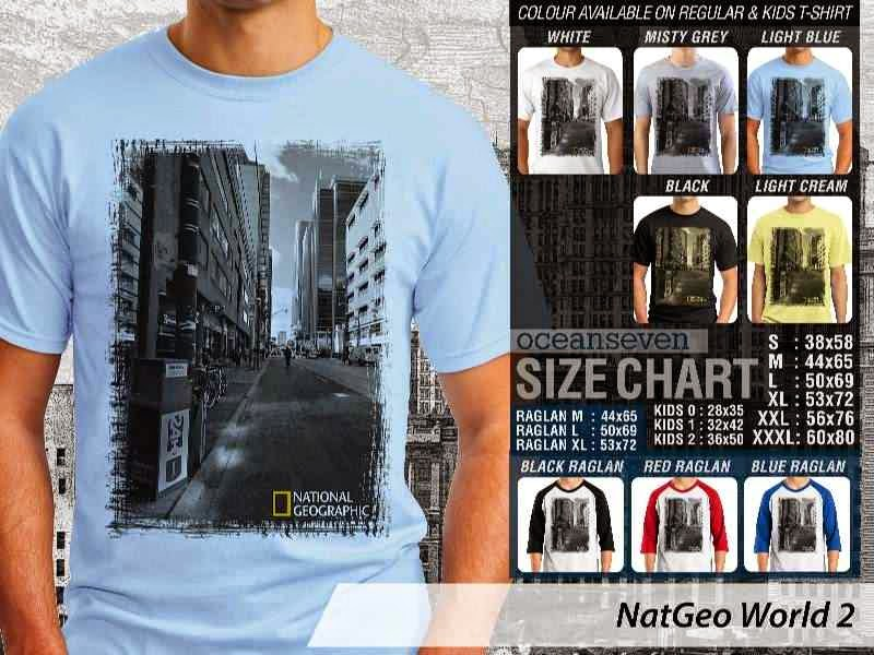 Kaos National Geographic NatGeo World 2 distro ocean seven