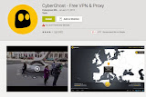 CyberGhost - Free Android VPN Apps To Surf Anonymously
