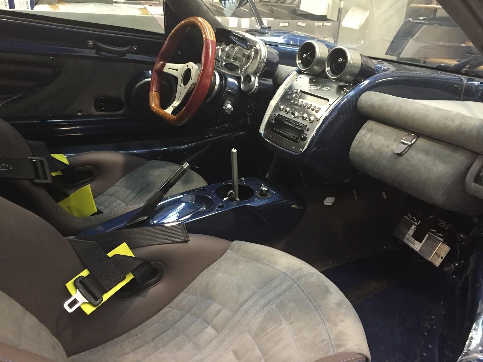 Nội thất của xe đang trong quá trình tinh chỉnh lại một vài điểm cho phù hợp