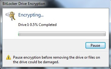Mengaktifkan BitLocker Drive Encryption Windows 7