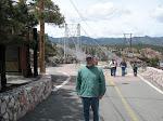 Dad at the bridge road