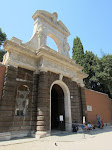 Entry to the Palatine area