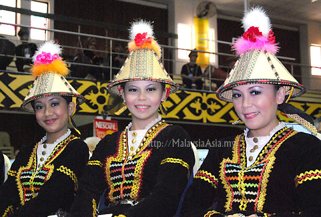 Unduk Ngadau Beauty Contest in Sabah