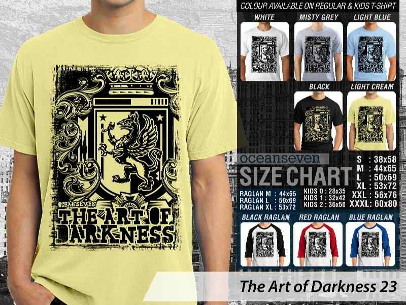 KAOS keren The Art of Darkness 23 distro ocean seven