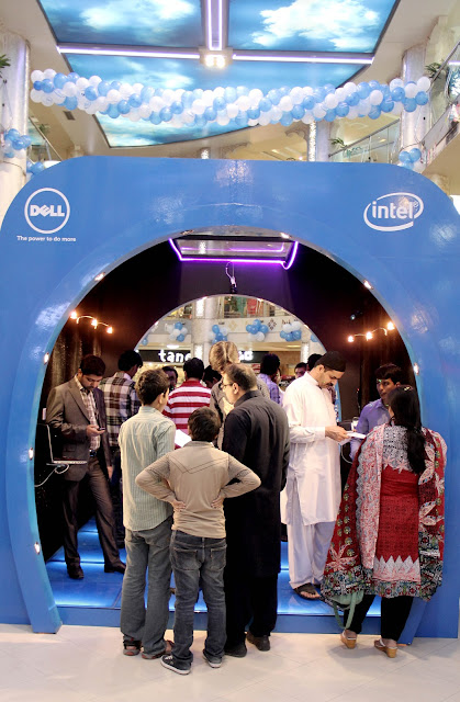 Atmosphere at Dell Road Show at Park Towers Khi