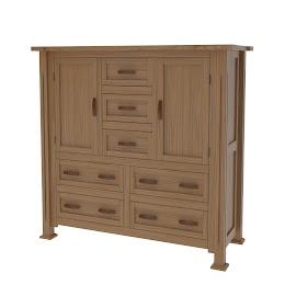 Sacramento Wardrobe Dresser
