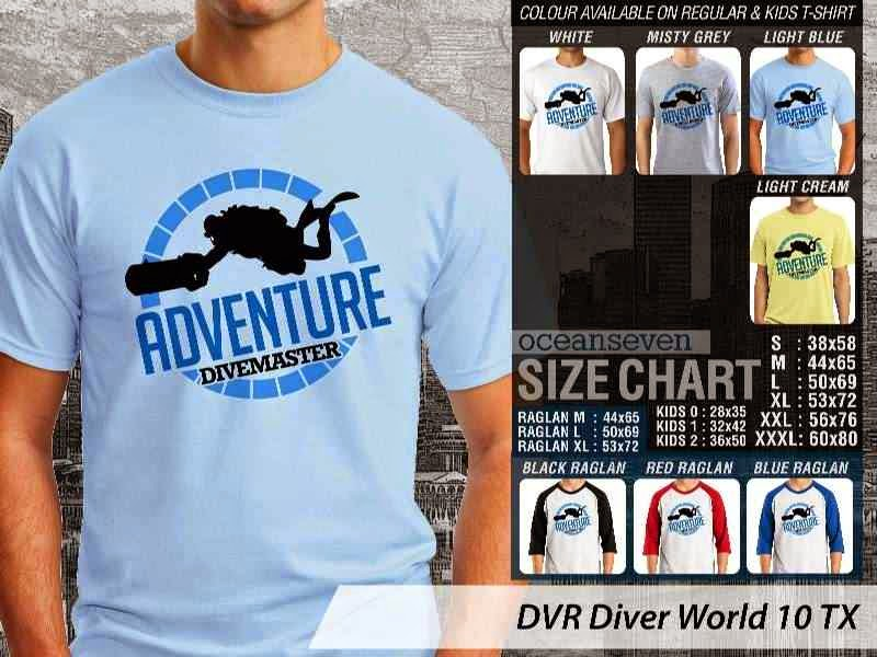 Kaos DVR Diver World 10 TX distro ocean seven