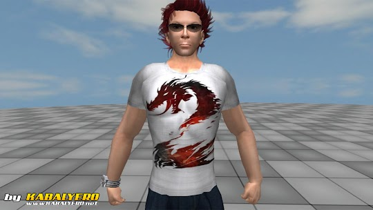 Guildwars 2 Fan Shirt in Second Life