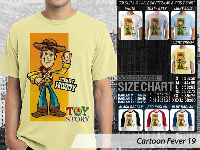 Kaos kartun Toy Story distro ocean seven