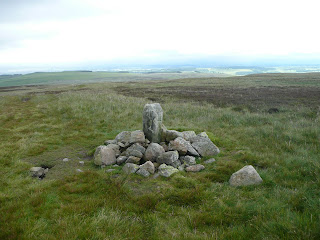A boundary stone on Askham Fell