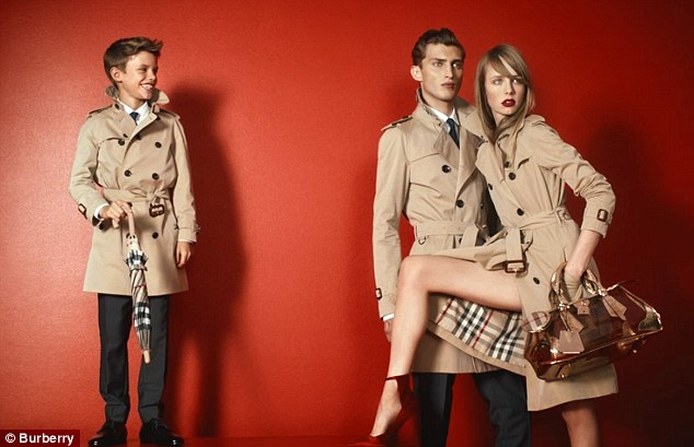 Move Over David Lil Romeo Beckham Is The Newest Face of Burberry
