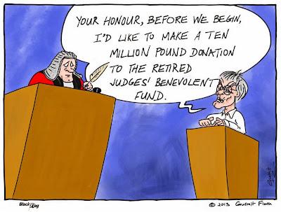 великодушный Берни Экклстоун в суде - комикс Black Flag