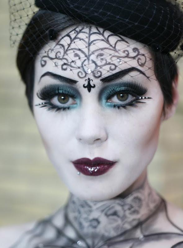 Suficiente Pra inspirar: maquiagem de Halloween! - Lu Ferreira | Chata de  HL62