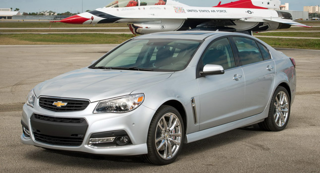 Chevrolet SS 2014 Chevrolet SS Officially Unveiled, Gets 415HP 6.2 liter LS3 V8 [w/ Video]