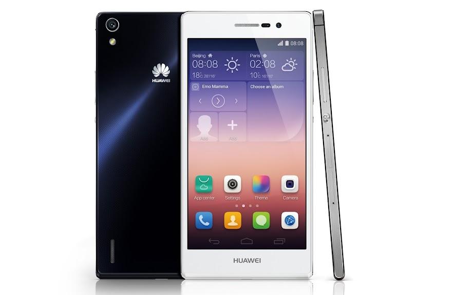 Huawei Ascend P7 - Spesifikasi Lengkap dan Harga - Phablet Selfie