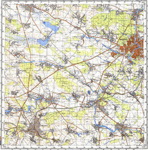Map 100k--m35-105--(1983)
