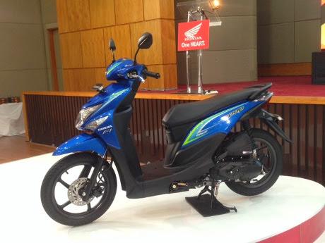Honda Luncurkan BeAT Model Terbaru 2015