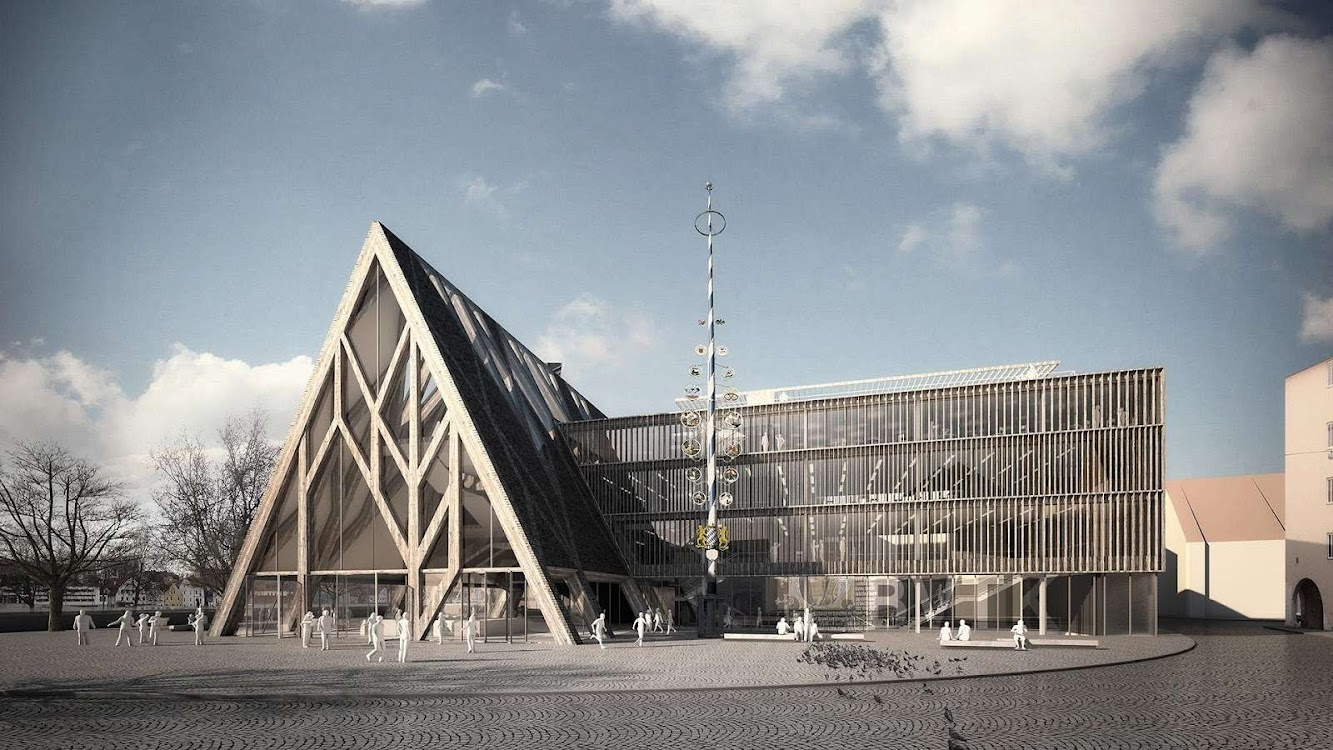 Museum of Bavarian History Competition Entry by modostudio