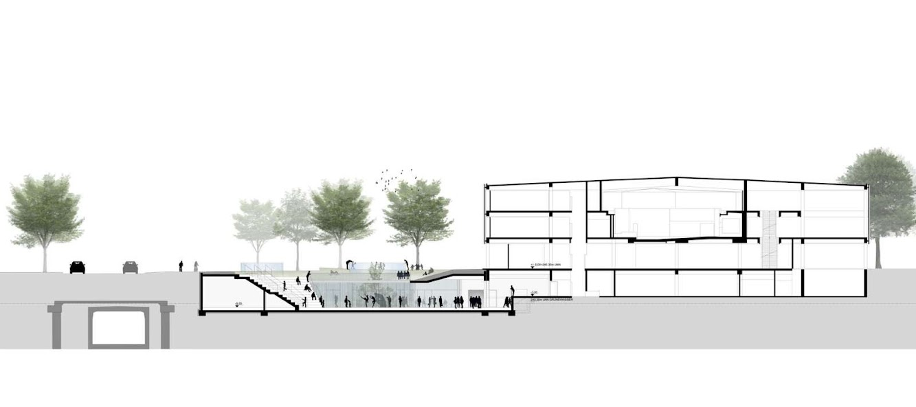 Henning Larsen Architects wins Citizen and Media Centre