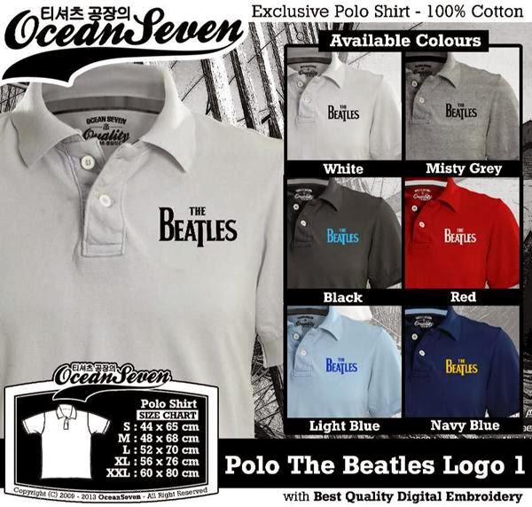 POLO The Beatles Logo distro ocean seven