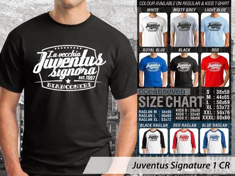 Kaos Bola Juventus 16 Lega Calcio distro