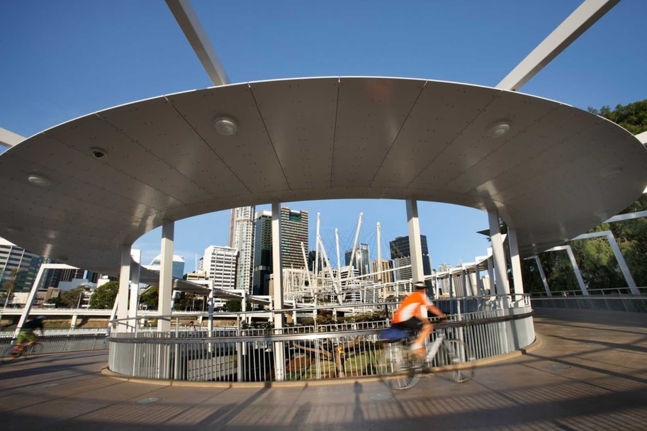 Brisbane Queensland Australia Kurilpa Bridge By Cox
