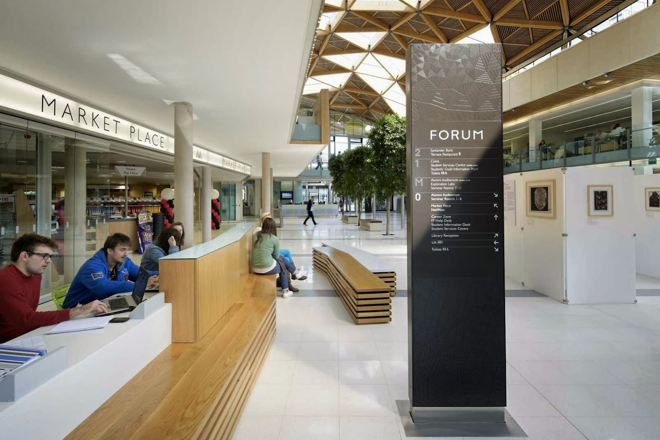 University of Exeter Forum by Wilkinson Eyre