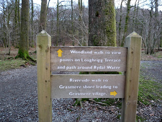 Mmm ... decisions decisions ... I think the path around Rydal Water will be ok for me today.