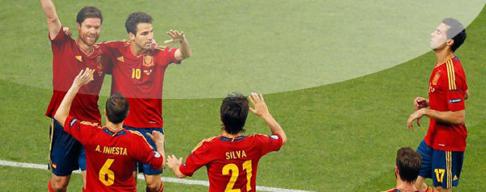 España llega a la Final de la Eurocopa 2012