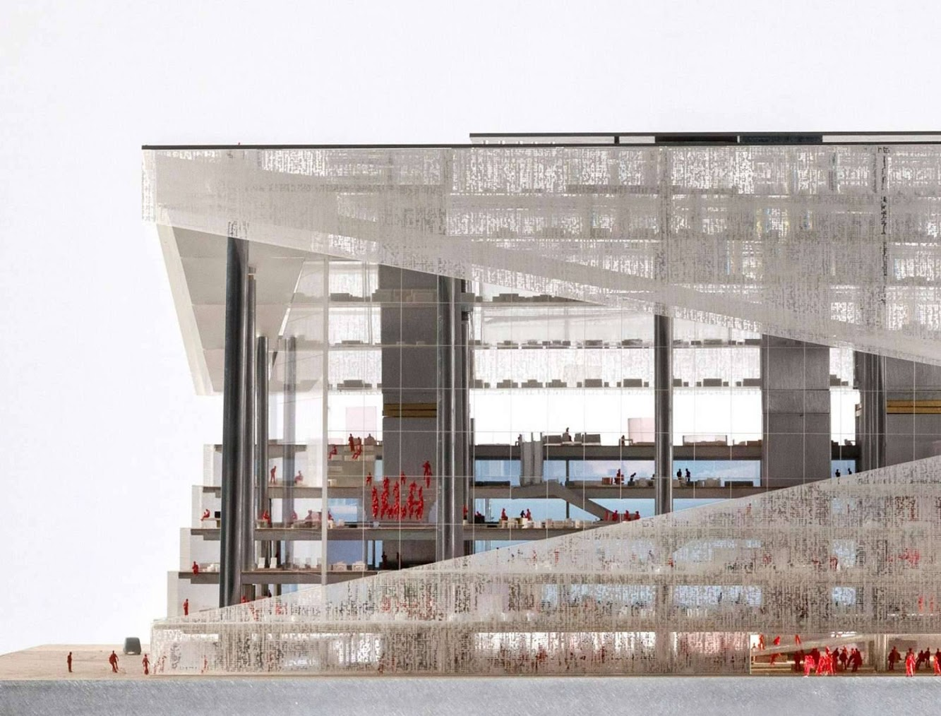 Oma Wins Axel Springer s new media centre