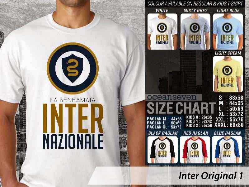 KAOS Inter Milan 20 Logo Klub Bola distro ocean seven