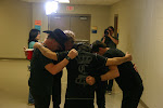 Dierks does his pre-show prayer