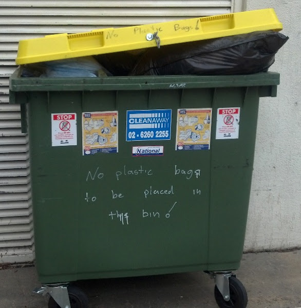 Recycling disobedience