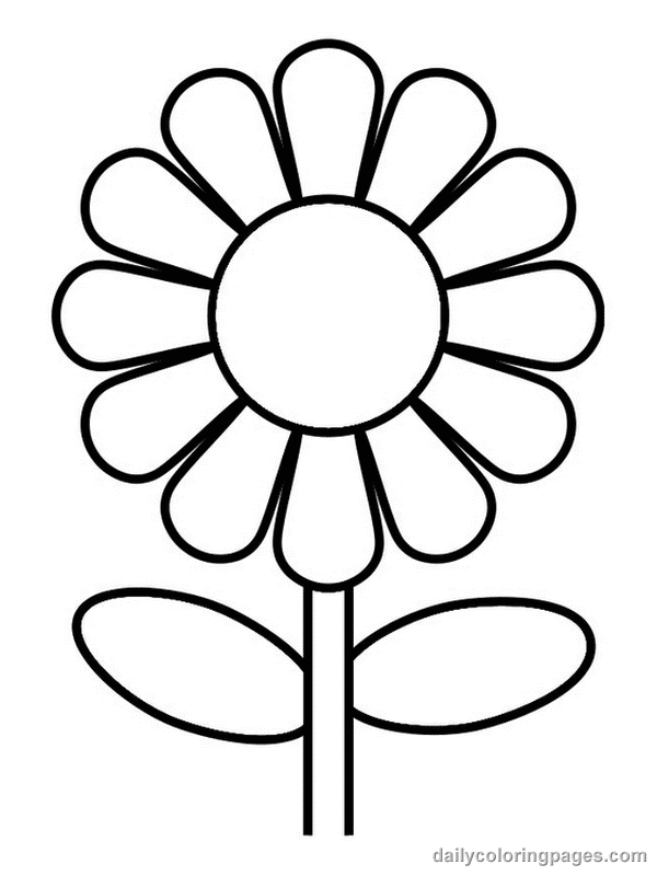 flower coloring pages for girls - Coloring Pages MakingFriends