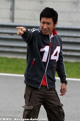 Камуи Кобаяши на Гран-при Малайзии 2012