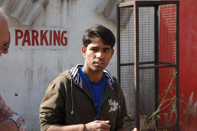Our guide, Iqbal, is a former street kid that was rescued from the streets with Salaam Balaak Trust.