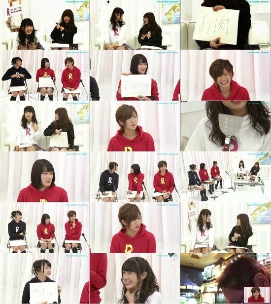 (TV-Variety)(720p) YNN [NMB48チャンネル] りぃちゃん24時間テレビ2014「へらへらトーク」 150312