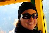 Enjoying The Ride Up The Aeri - Montserrat, Spain
