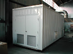 A custom-built remediation system for a gas station completely enclosed in a trailer unit.