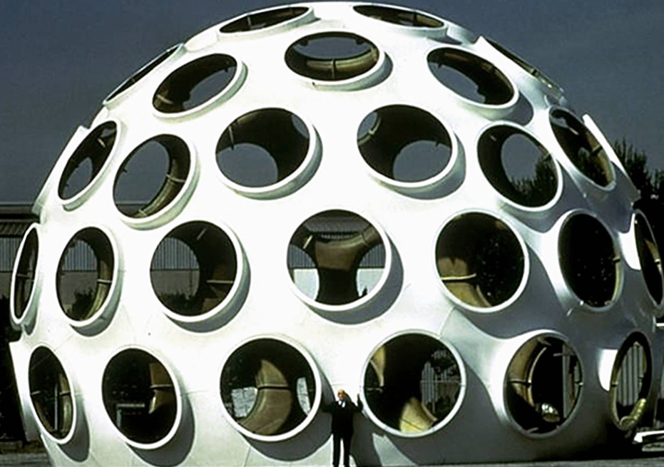 Fly Eye Dome by Buckminster Fuller