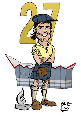 комикс Cirebox - Фернандо Алонсо сравнивается по числу побед с Джеки Стюартом после победы на Гран-при Великобритании 2011