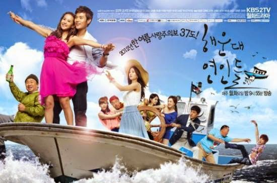 Poster Drama Lovers of Haeundae